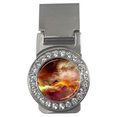 Abstract 3d Graphics Psychedelic Nebula Space Money Clips (cz)