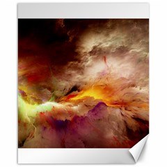 Abstract 3d Graphics Psychedelic Nebula Space Canvas 16  X 20  by Bejoart