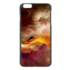 Abstract 3d Graphics Psychedelic Nebula Space Apple Iphone 6 Plus/6s Plus Black Enamel Case by Bejoart