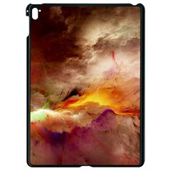 Abstract 3d Graphics Psychedelic Nebula Space Apple Ipad Pro 9 7   Black Seamless Case