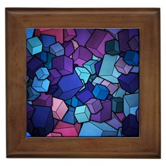Cubes Vector Framed Tiles