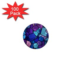 Cubes Vector 1  Mini Magnets (100 Pack)