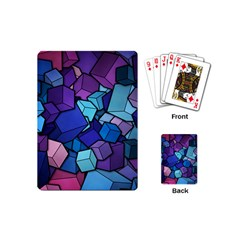 Cubes Vector Playing Cards (mini) by Bejoart