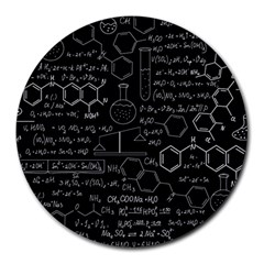Medical Biology  Medicine Psychedelic Science Abstract  Round Mousepads by Bejoart