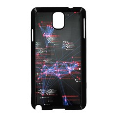Anarchy Computer Cyber Hacker Hacking Virus Dark Sadic Internet Samsung Galaxy Note 3 Neo Hardshell Case (black) by Bejoart