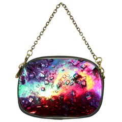 Abstract Colorful Psychedelic Color Chain Purse (one Side)