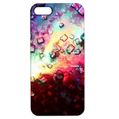 Abstract Colorful Psychedelic Color Apple Iphone 5 Hardshell Case With Stand