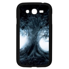 Nature Tree Landscape Art Artwork Artistic Samsung Galaxy Grand Duos I9082 Case (black)
