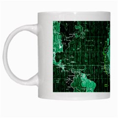 Hacker Hacking Hack Anarchy Virus Internet Computer Sadic Anonymous Dark White Mugs
