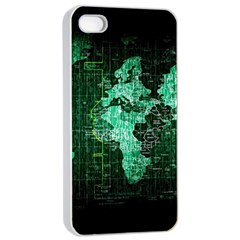 Hacker Hacking Hack Anarchy Virus Internet Computer Sadic Anonymous Dark Apple Iphone 4/4s Seamless Case (white)