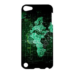 Hacker Hacking Hack Anarchy Virus Internet Computer Sadic Anonymous Dark Apple Ipod Touch 5 Hardshell Case by Bejoart
