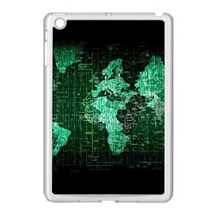 Hacker Hacking Hack Anarchy Virus Internet Computer Sadic Anonymous Dark Apple Ipad Mini Case (white) by Bejoart