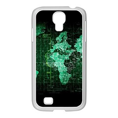 Hacker Hacking Hack Anarchy Virus Internet Computer Sadic Anonymous Dark Samsung Galaxy S4 I9500/ I9505 Case (white)