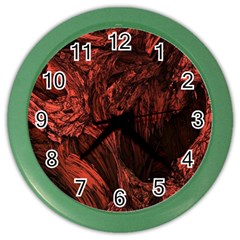Hell Color Wall Clock