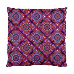 Ethnic Floral Seamless Pattern Standard Cushion Case (two Sides)