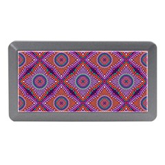 Ethnic Floral Seamless Pattern Memory Card Reader (mini)