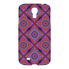 Ethnic Floral Seamless Pattern Samsung Galaxy S4 I9500/i9505 Hardshell Case
