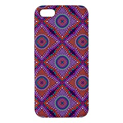 Ethnic Floral Seamless Pattern Iphone 5s/ Se Premium Hardshell Case