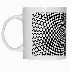 Abstract Animated Ornament Background White Mugs