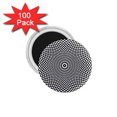 Abstract Animated Ornament Background 1 75  Magnets (100 Pack)
