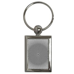 Abstract Animated Ornament Background Key Chains (rectangle)