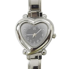 Abstract Animated Ornament Background Heart Italian Charm Watch
