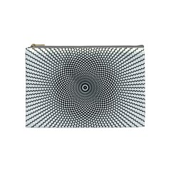 Abstract Animated Ornament Background Cosmetic Bag (medium)