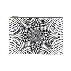 Abstract Animated Ornament Background Cosmetic Bag (large)