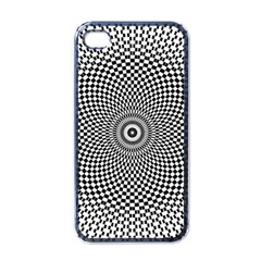 Abstract Animated Ornament Background Apple Iphone 4 Case (black)