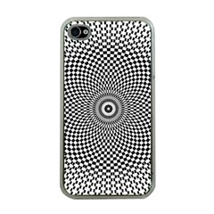Abstract Animated Ornament Background Apple Iphone 4 Case (clear)