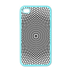 Abstract Animated Ornament Background Apple Iphone 4 Case (color)