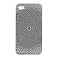 Abstract Animated Ornament Background Apple Iphone 4/4s Seamless Case (black)