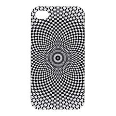 Abstract Animated Ornament Background Apple Iphone 4/4s Premium Hardshell Case