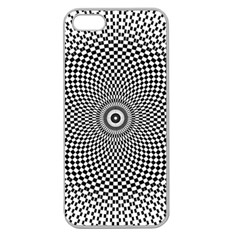 Abstract Animated Ornament Background Apple Seamless Iphone 5 Case (clear)