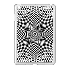Abstract Animated Ornament Background Apple Ipad Mini Case (white)