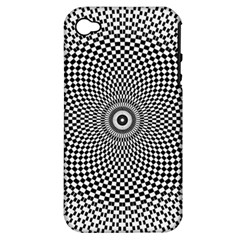 Abstract Animated Ornament Background Apple Iphone 4/4s Hardshell Case (pc+silicone)