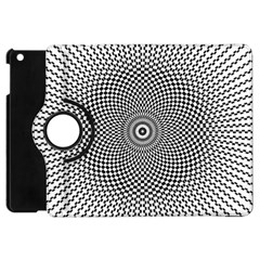Abstract Animated Ornament Background Apple Ipad Mini Flip 360 Case