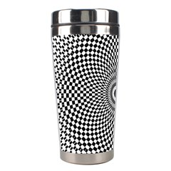 Abstract Animated Ornament Background Stainless Steel Travel Tumblers