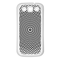 Abstract Animated Ornament Background Samsung Galaxy S3 Back Case (white)