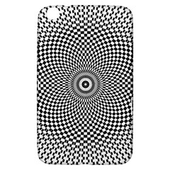 Abstract Animated Ornament Background Samsung Galaxy Tab 3 (8 ) T3100 Hardshell Case