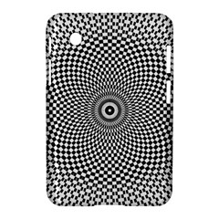 Abstract Animated Ornament Background Samsung Galaxy Tab 2 (7 ) P3100 Hardshell Case