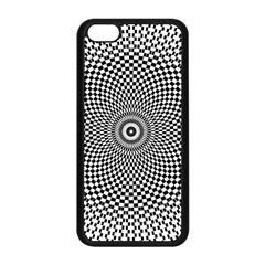 Abstract Animated Ornament Background Apple Iphone 5c Seamless Case (black)