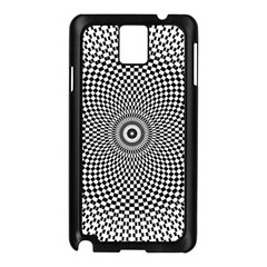 Abstract Animated Ornament Background Samsung Galaxy Note 3 N9005 Case (black)