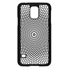 Abstract Animated Ornament Background Samsung Galaxy S5 Case (black)