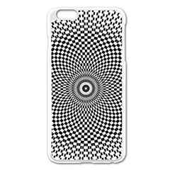 Abstract Animated Ornament Background Apple Iphone 6 Plus/6s Plus Enamel White Case