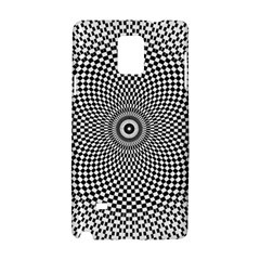 Abstract Animated Ornament Background Samsung Galaxy Note 4 Hardshell Case