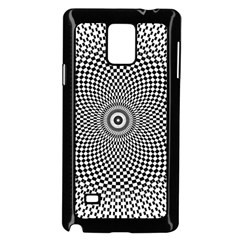 Abstract Animated Ornament Background Samsung Galaxy Note 4 Case (black)