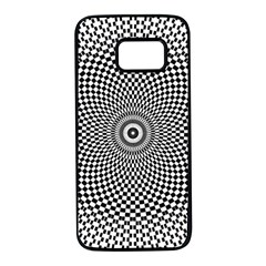 Abstract Animated Ornament Background Samsung Galaxy S7 Black Seamless Case by Alisyart