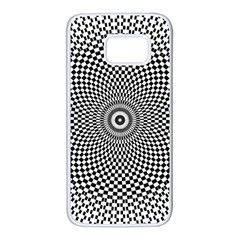 Abstract Animated Ornament Background Samsung Galaxy S7 White Seamless Case