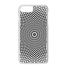Abstract Animated Ornament Background Apple Iphone 8 Plus Seamless Case (white)
